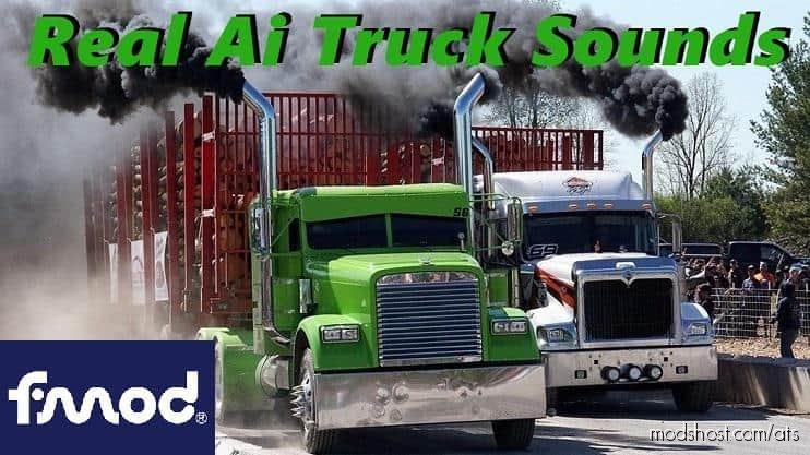 Sounds Truck Traffic Pack V2.6.3 [1.37] for American Truck Simulator