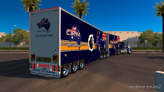 Australian Double-Drop Trailers [1.37] for Euro Truck Simulator 2