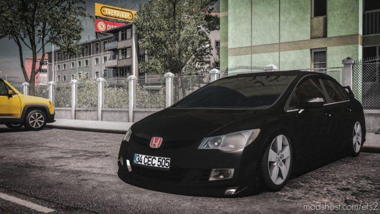 Honda Civic FD6 [1.37] for Euro Truck Simulator 2