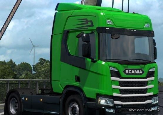 Danish Green Skin for Euro Truck Simulator 2