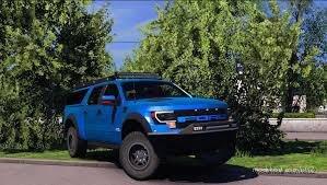 Ford Raptor [1.31 – 1.36] for Euro Truck Simulator 2
