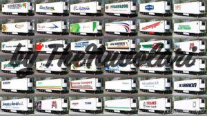 Krone Cool Liner Mega Skinpack V1.7 for Euro Truck Simulator 2