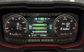Scania S Dashboard Computer V1.4 for Euro Truck Simulator 2