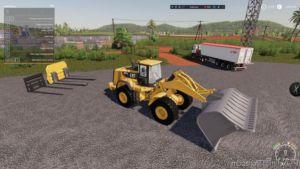 Coal Shovel For 980K CAT Loader for Farming Simulator 19