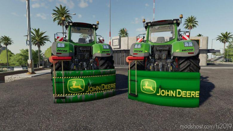 Masse John Deere for Farming Simulator 19