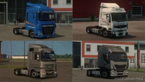 LOW Deck Chassis Addons For Schumi's Trucks By Sogard3 V3.9 for Euro Truck Simulator 2