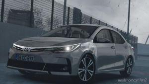 Toyota Corolla 2018 V1R30 [1.37] for Euro Truck Simulator 2