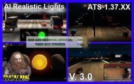 AI Realistic Lights V3.0 [1.37.X] for American Truck Simulator