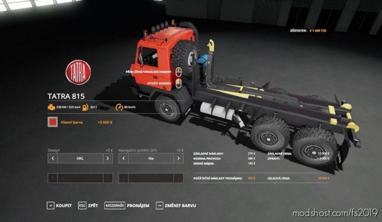 Tatra 815 HKL for Farming Simulator 19