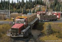 Western Star 9000 Twinsteer Trailer (AWD | AWS) V3.1.1 for SnowRunner
