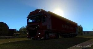 Lerton Trans Combo Skin For DAF XF 105 & Krone Profiliner for Euro Truck Simulator 2