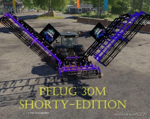 Plow 30M Shorty – Edition V1.2 for Farming Simulator 19