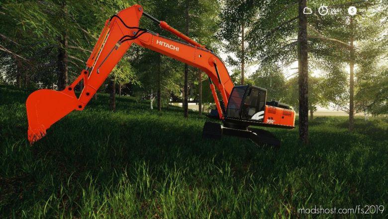 Dans Model Shack Hiatchi 350 for Farming Simulator 19