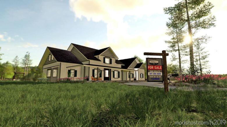 EMR Farmhouse for Farming Simulator 19