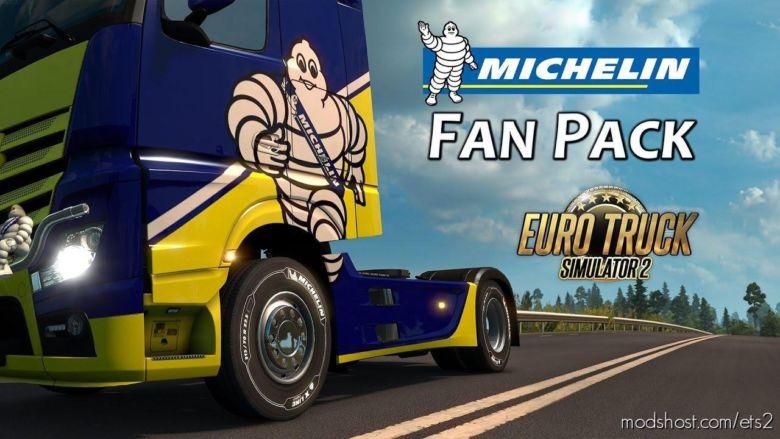 Michelin FAN Pack [1.37] for Euro Truck Simulator 2
