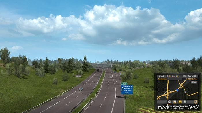 Junction Overhaul For Promods V2.46 for Euro Truck Simulator 2