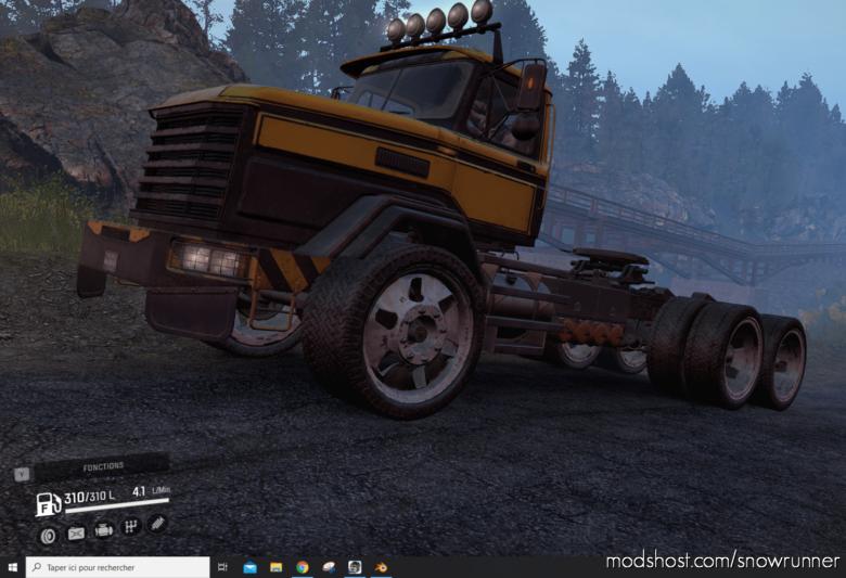 B 17 Majesty Truck for SnowRunner