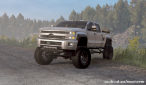 Chevrolet Duramax Roro Customs V1.5 for SnowRunner