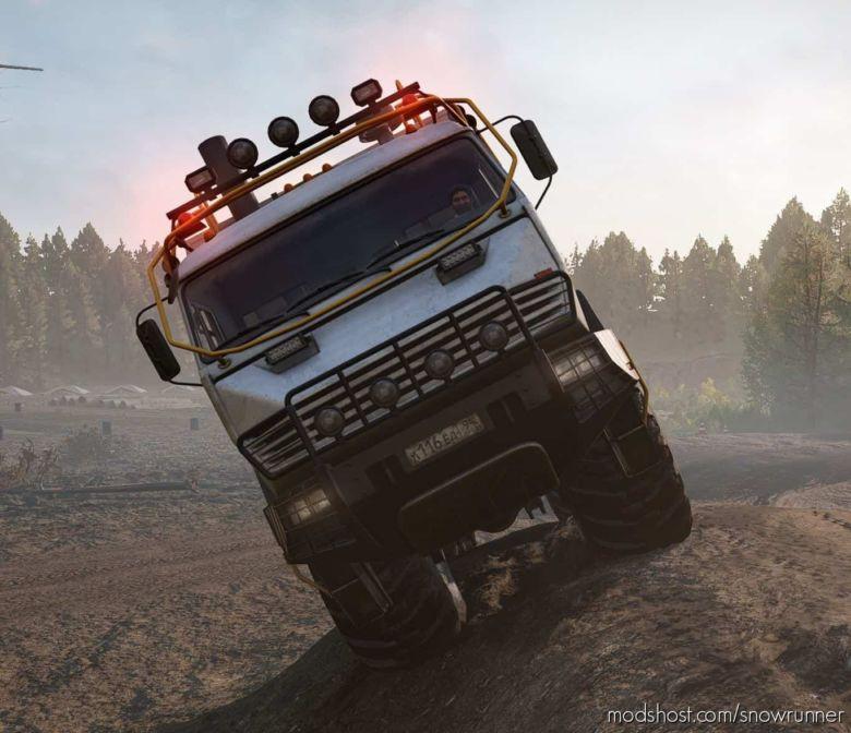 Kamaz-6345 Arctic for SnowRunner