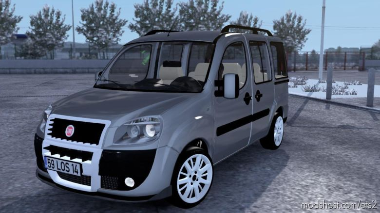 Fiat Doblo D2 V1R30 [1.37] for Euro Truck Simulator 2