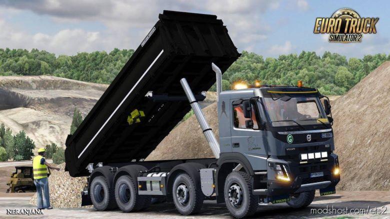 Volvo Kipper Rework By Devix DK [1.35 – 1.37] for Euro Truck Simulator 2