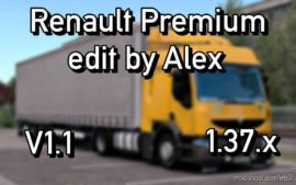 Renault Premium Edit By Alex V1.1 [1.37] for Euro Truck Simulator 2