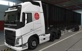 Skin Volvo FH16 2012 GBN [1.37] for Euro Truck Simulator 2