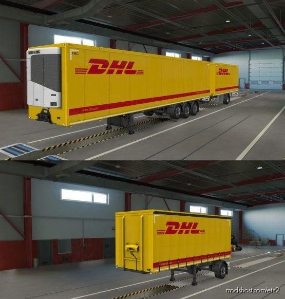 DHL Ownership Skin V2.0.1 [1.36+] for Euro Truck Simulator 2