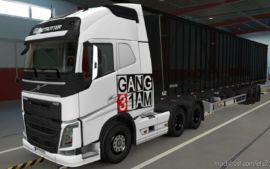 Skin Volvo FH16 2012 Gang [1.37] for Euro Truck Simulator 2