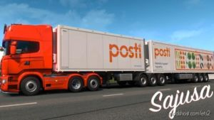 SCS Standard Trailer Skin Pack for Euro Truck Simulator 2