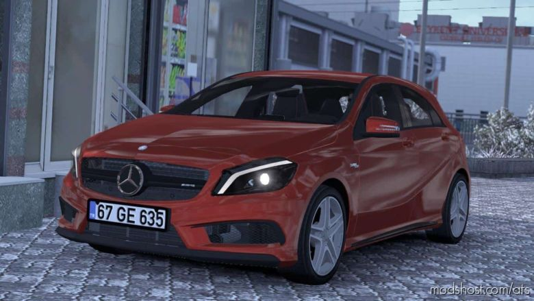 Mercedes Benz A45 V1.4 for American Truck Simulator