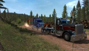 Truck Rescue Trailer Pack + BIG N Heavy Trailer Addon Pack [1.37] for American Truck Simulator