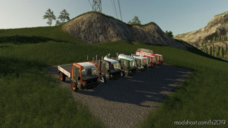 Lindner Unitrac Pack for Farming Simulator 19
