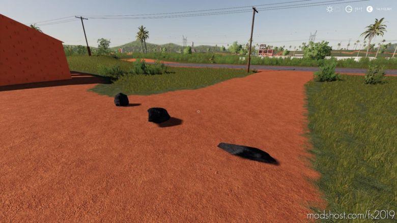Dynamic Coal Rock With Filltype V0.5 for Farming Simulator 19