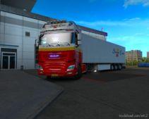 Hamza Skinner NEW Combo Simon Loos For DAF XF [1.37] for Euro Truck Simulator 2