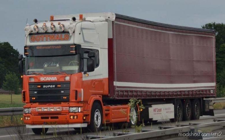 Scania 4 Series V8 Open Pipe [1.37.X] for Euro Truck Simulator 2