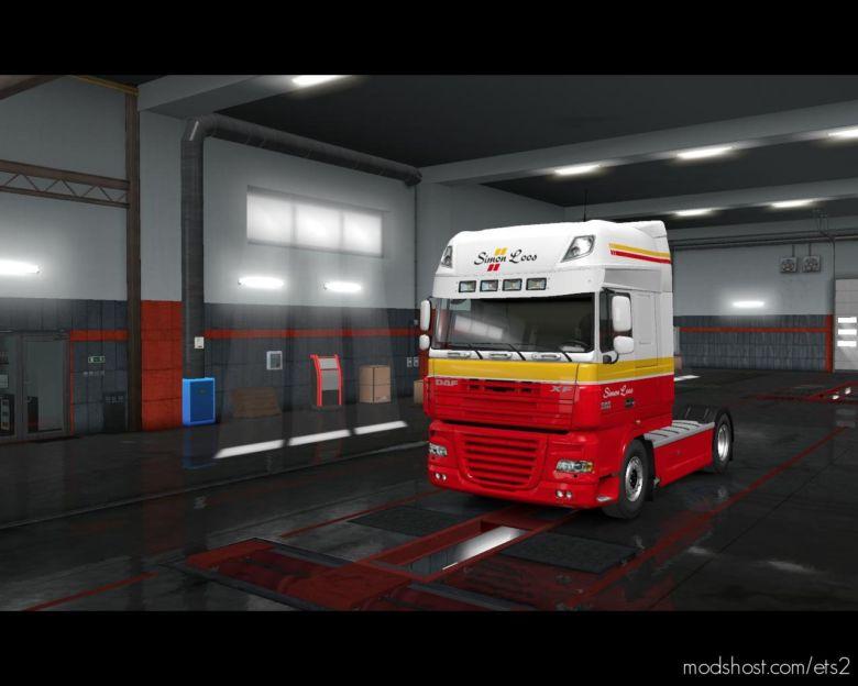 Hamza-Skinner NEW Combo Simon Loos For DAF XF 105 [1.36.X] for Euro Truck Simulator 2