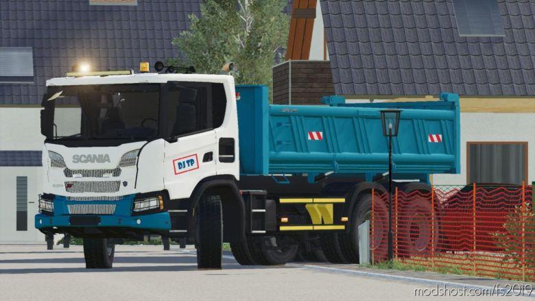 Scania XT 6X4 for Farming Simulator 19