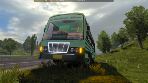 Indian TamilNadu TNSTC BUS Mod V1 (1.30,1.31 &1.32) for Euro Truck Simulator 2