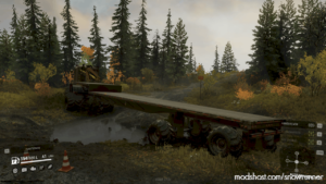 Off-Road Trailer High Suspension V1.0.3 for SnowRunner