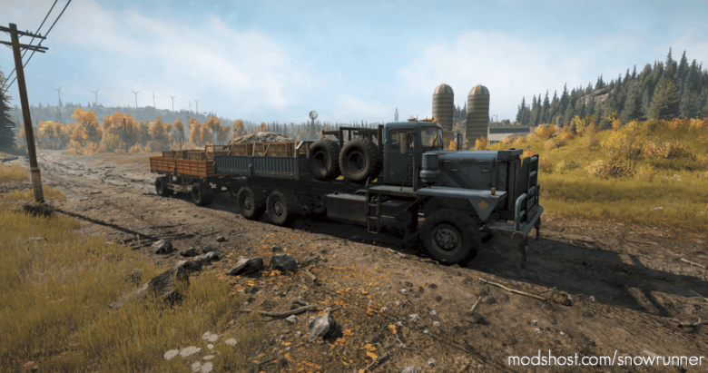 Rear Crane And NEW Vehicle Add-Ons 1.1.8 for SnowRunner