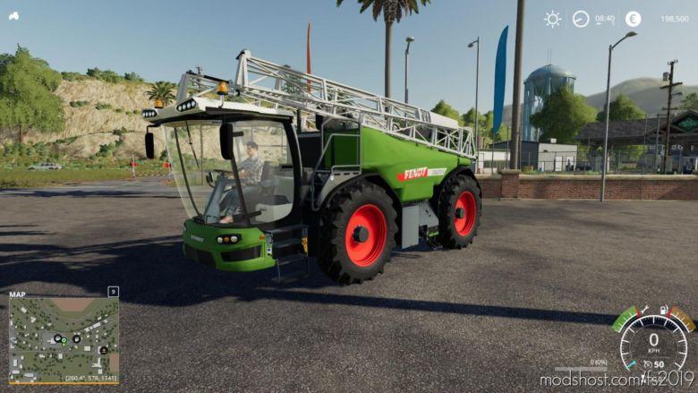 Fendt Rogator for Farming Simulator 19