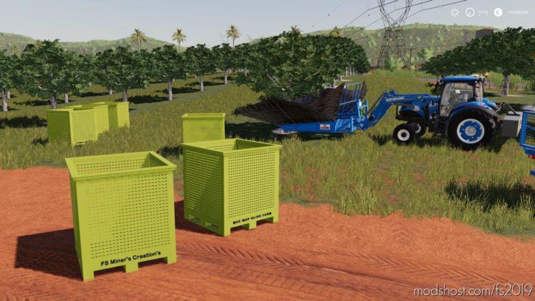 Pallet BOX For Olives V0.5 for Farming Simulator 19
