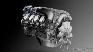 Scania R730 Euro 6 V8 Opticruise Stock Sound [1.37] for Euro Truck Simulator 2