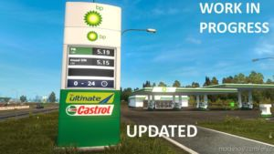 Real European GAS Stations [1.37] for Euro Truck Simulator 2