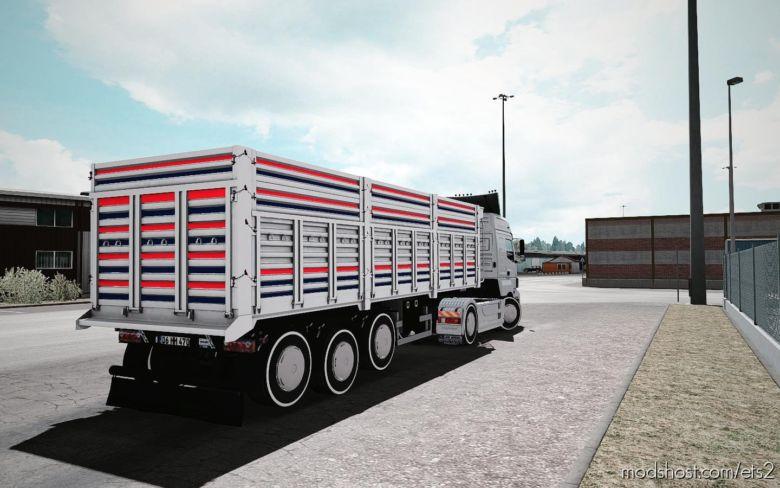 Ownable Serin Damper Trailer [1.37] for Euro Truck Simulator 2