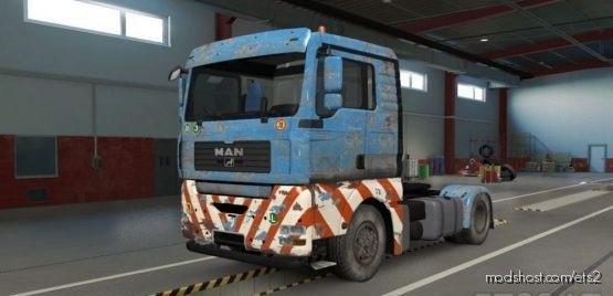 MAN TGA OLD Heavy Transport Skin for Euro Truck Simulator 2