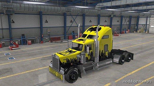 Skin W900 Batman Retro for American Truck Simulator