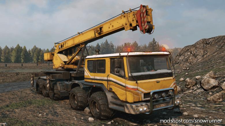 Azov 73210 Custom V0.0.8 for SnowRunner