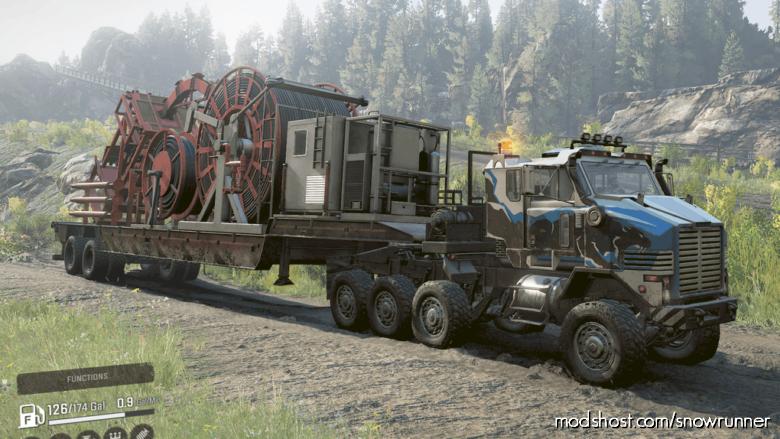 Oshkosh M1070 Prime Mover for SnowRunner